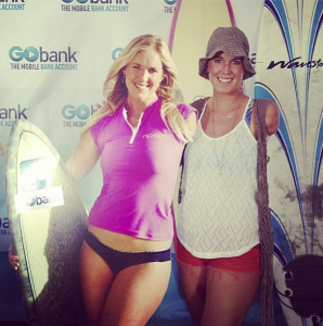 bethany hamilton next to cutout
