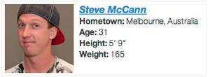 steve mccann profile