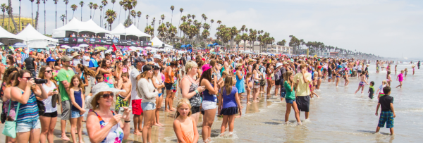 supergirl pro beach event oceanside